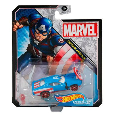veiculo-hot-wheels-escala-1-64-disney-marvel-capitao-america-mattel_Frente