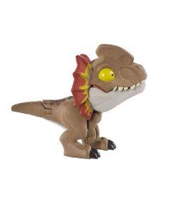 Mini-Figura-Articulada---10-Cm---Jurassic-World---Esquadrao-Mordida---Dilofosauro---Mattel_Frente