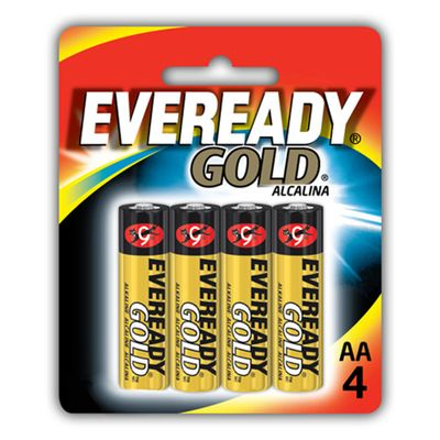 Pilhas-Alcalinas---LR03-Palito---AAA---Cartela-com-4-Unidades---Eveready-Gold_Frente