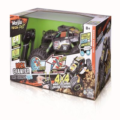 Veiculo-de-Controle-Remoto---Rock-Crawler---Pro-Series-4WS----Maisto-0
