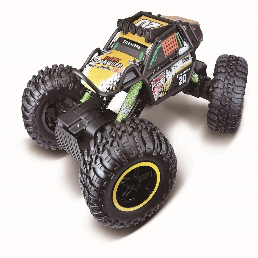 Veiculo-de-Controle-Remoto---Rock-Crawler---Pro-Series-4WS----Maisto-1