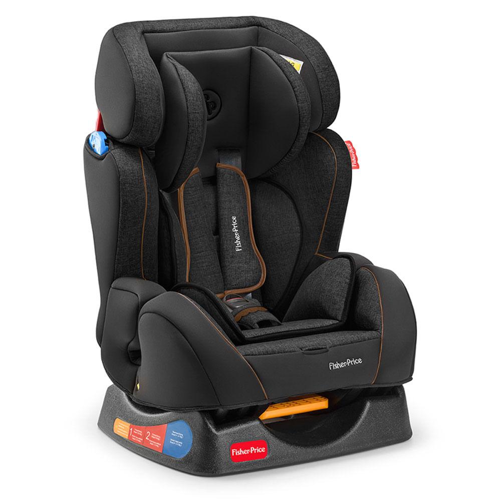 Cadeira para Auto - De 0 a 25 Kg - Hug - Preta - Fisher Price
