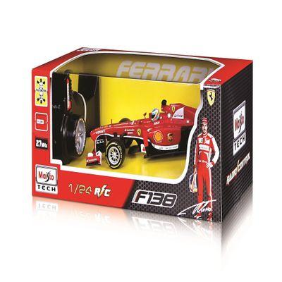 Carrinho Radio Control Ferrari F138 Maisto