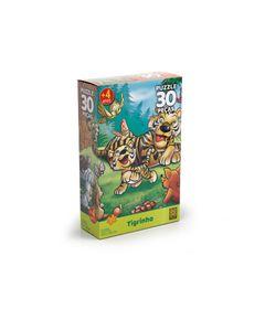 Quebra-Cabeca---Tigrinho---30-Pecas---Grow-0