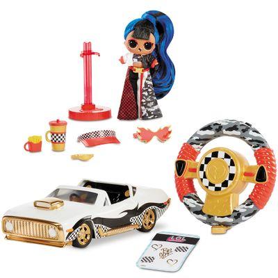 Veiculo de Controle Remoto e Boneca com Acessorios LOL Surprise! Wheels Candide