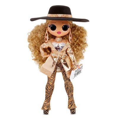 Boneca---LOL-Surprise---OMG-Doll-Core-Asst-Wave---Serie-3---Dourado---Candide-0