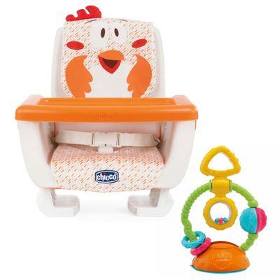 Kit-Assento-Elevatorio---Mode---Fancy-Chicken-e-Brinquedo---Touch---Spin---Chicco