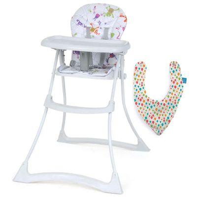 Kit-de-Cadeira-de-Alimentacao---Bom-Apettit-XL---Monstrinhos---Burigotto-e-Babador-Bandana---Baloes---Multikids-Baby