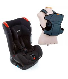 Kit-de-Cadeira-Para-Auto---De-0-a-25-Kg---Recline---Full-Black---Safety-1st-e-Canguru---I-Love-Travel---Blue---Infanti