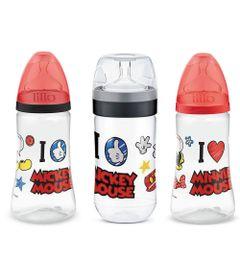 Kit-de-Mamadeiras-Transparente---300Ml-Disney---Mickey-e-Minnie---Lillo