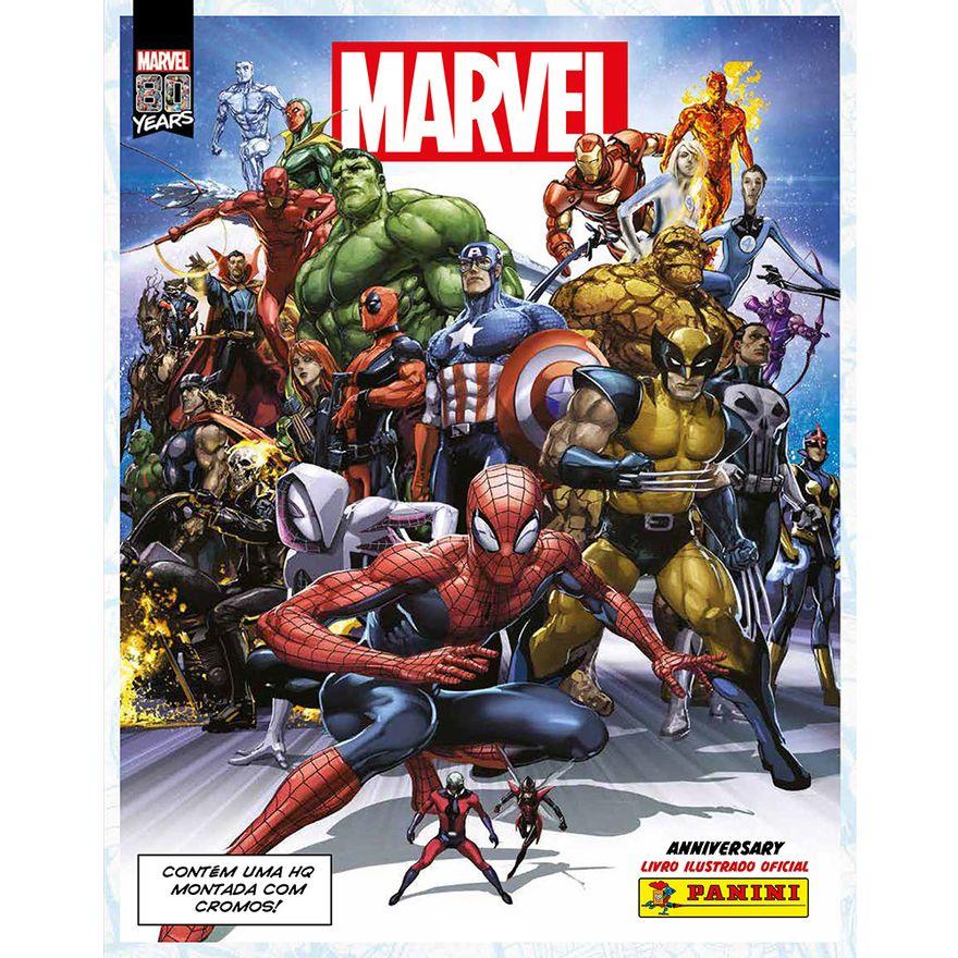 Album-de-Figurinhas---Marvel-80-Anos---Pack-com-6-Envelopes---Panini-0