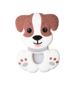 mordedor-de-silicone-pulseira-cachorrinho-marrom-girotondo-baby-LP7008_Frente