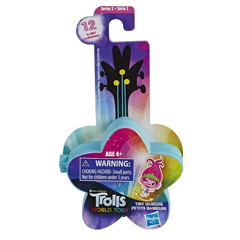 Mini Figura com Acessórios - Trolls - Pequenos Dançarinos - Estrela Azul - Hasbro