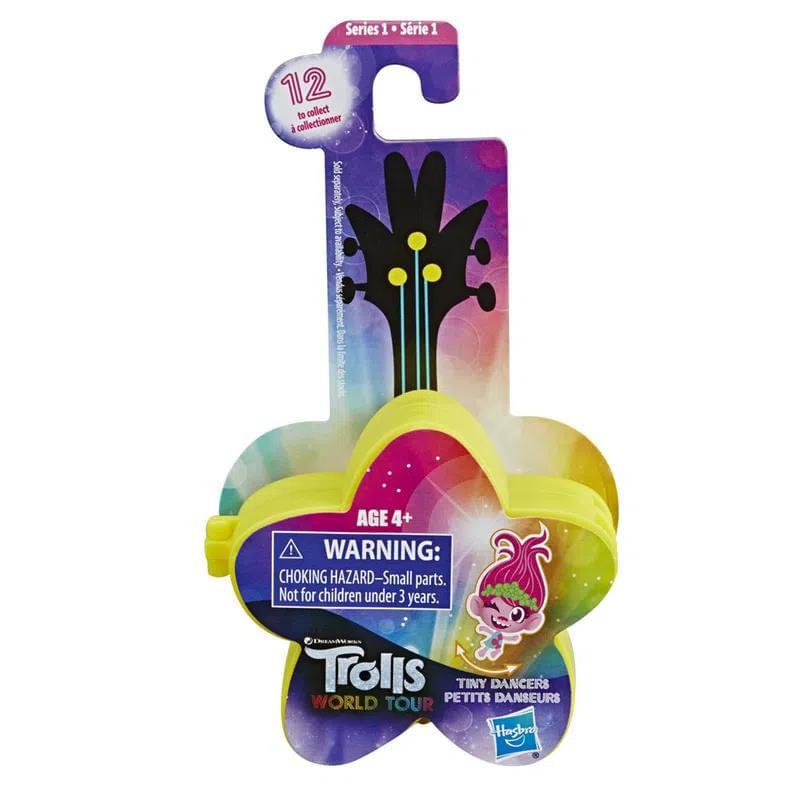 Mini Figura com Acessórios - Trolls - Pequenos Dançarinos - Estrela Amarela - Hasbro
