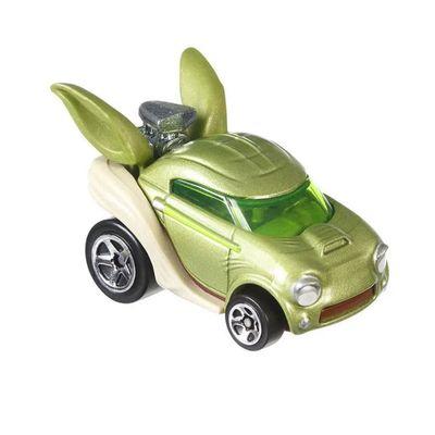 veiculo-hot-wheels-escala-1-64-disney-marvel-yoda-mattel_Frente