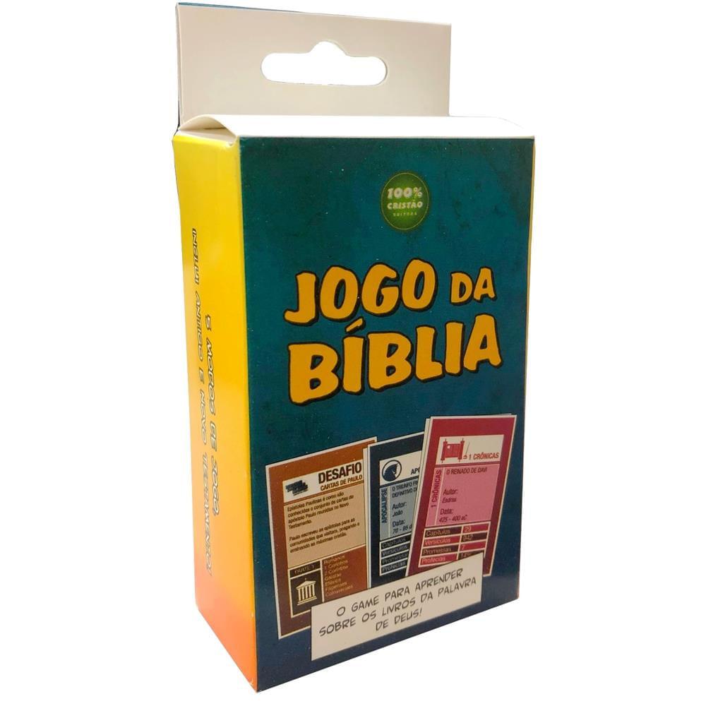 Jogo da Bíblia (Jogo de Cartas)