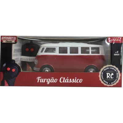 Veiculo-de-Controle-Remoto---Furgao-Classico---RC-3-Func-Pilhas---Garagem-SA---Vermelho---Candide-0