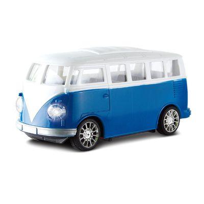 Veiculo-de-Controle-Remoto---Furgao-Classico---RC-3-Func-Pilhas---Garagem-SA---Azul---Candide-0