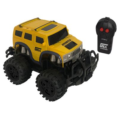 Veiculo-de-Controle-Remoto---Furious---RC3-Pilhas---Garagem-SA---Amarelo---Candide-0