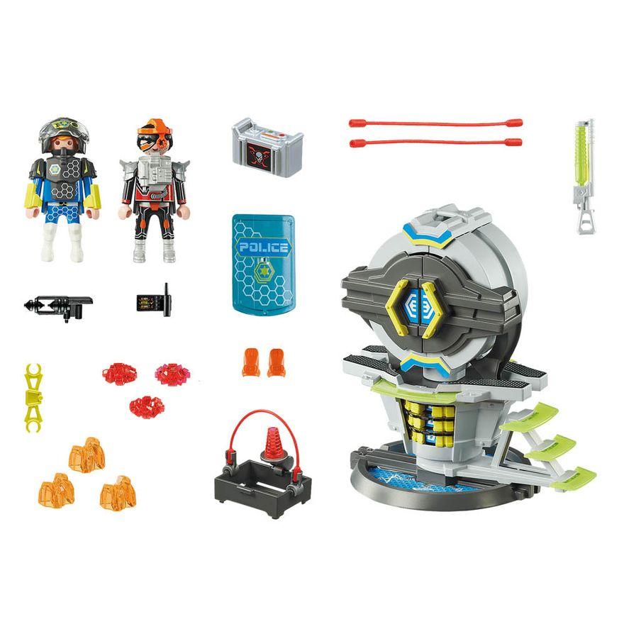 Caixa-forte-com-codigo-secreto---Playmobil-policia-galactica---Sunny-brinquedos--2466-2