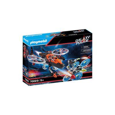 Piratas-galacticos-com-helicoptero---Playmobil-policia-galatica---Sunny-brinquedos---2467-0