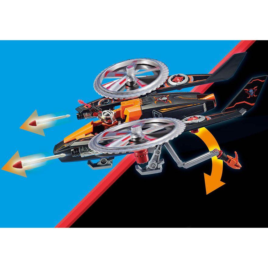 Piratas-galacticos-com-helicoptero---Playmobil-policia-galatica---Sunny-brinquedos---2467-4