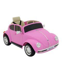 Carro-Eletrico-12V---Beetle---Rosa---Volkswagen---Bel-Fix-0