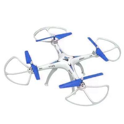 Drone Quadricoptero Vectron Branco e Azul Polibrinq