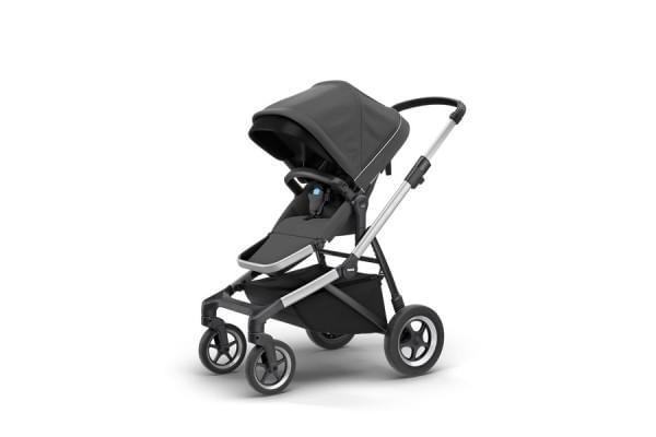 Carrinho Thule Sleek p/ 1 bebê Shadow Grey (11000003)