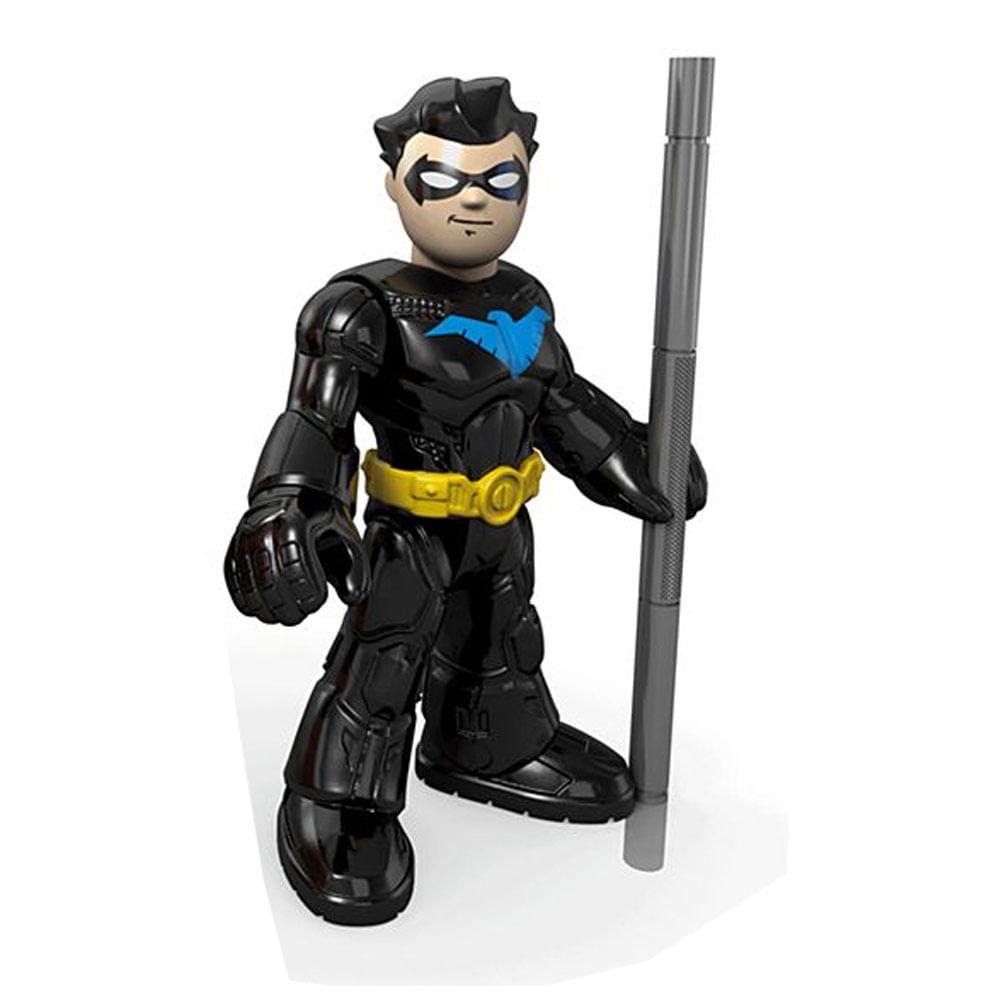 Mini Figura de Ação - 7 Cm - DC Comics - Imaginext - Asa Noturna com Acessórios - Mattel