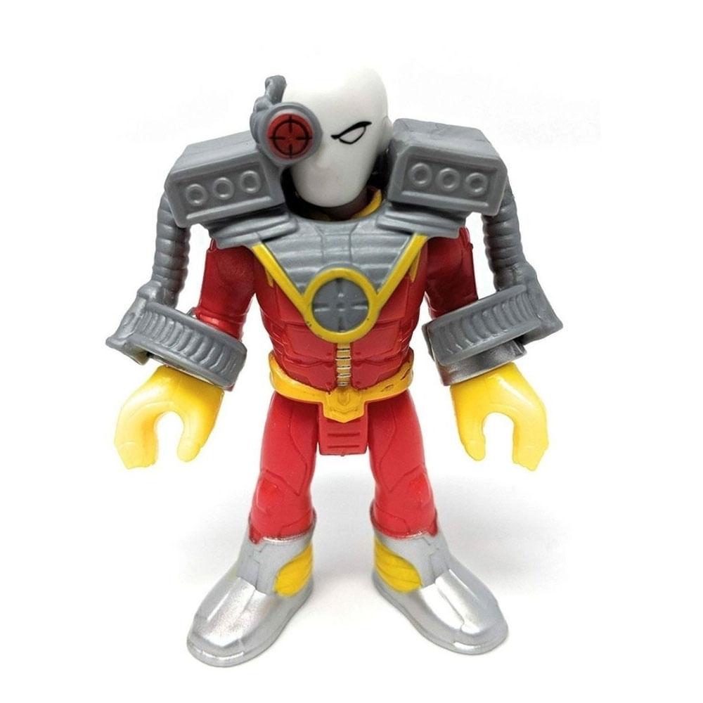 Mini Figura de Ação - 7 Cm - DC Comics - Imaginext - Pistoleiro com Acessórios - Mattel