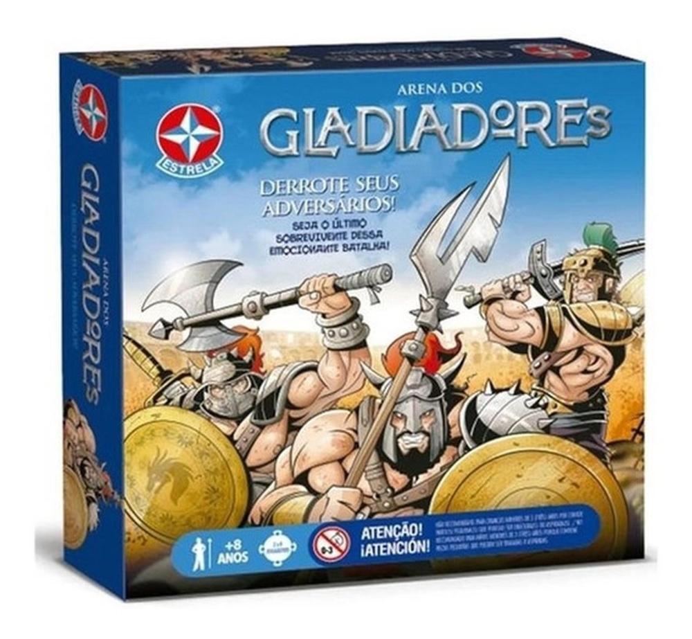 Jogo Arena Dos Gladiadores Original - Estrela