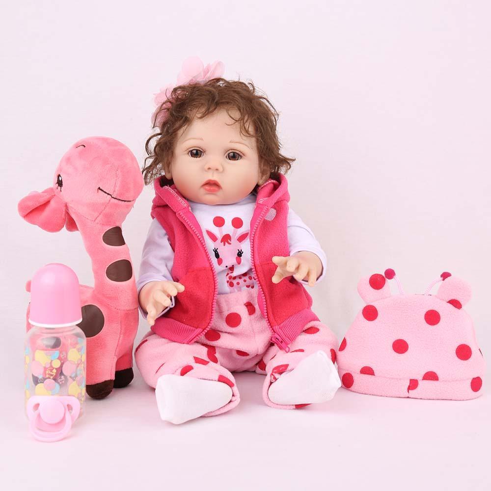 Boneca Bebe Reborn Laura Baby Emily