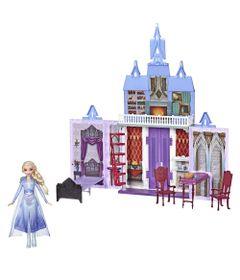 Kit-Playset-Castelo-de-Arendelle---38-Cm---Disney---Frozen-2-e-Boneca-Elsa---Hasbro