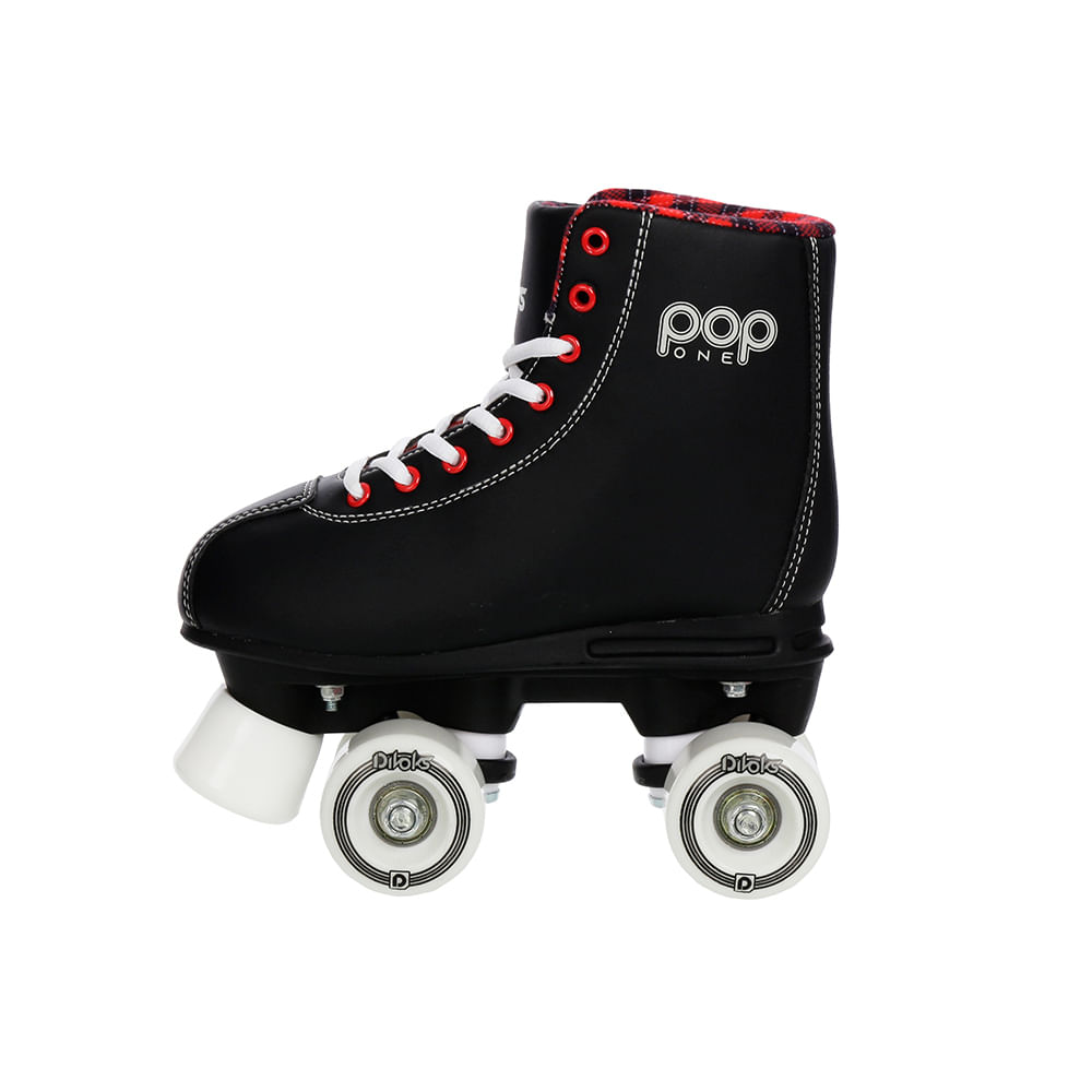 Patins Clássico - Pop One Black - Froes - 35/36