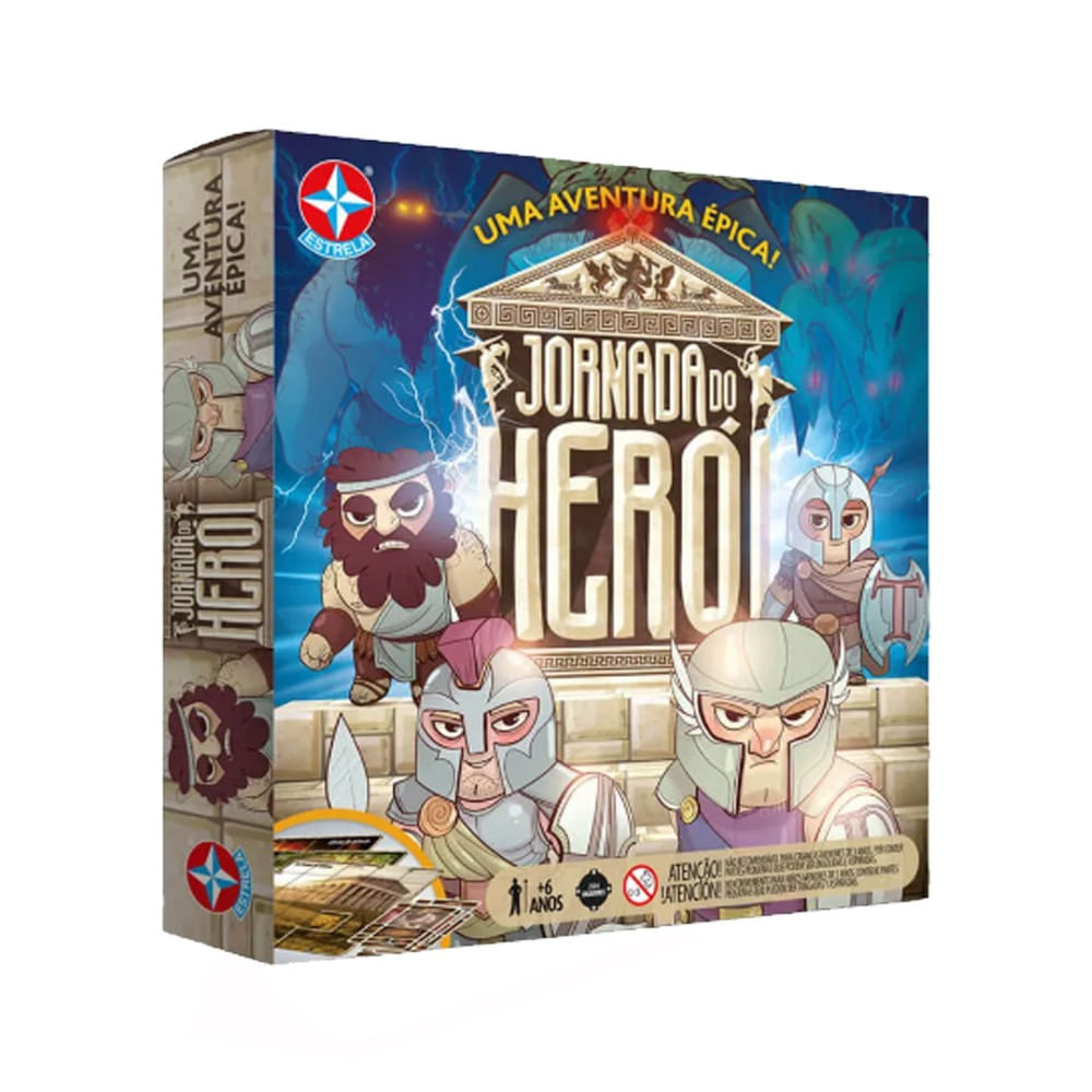 Jornada do Herói Jogo de Tabuleiro Estrela