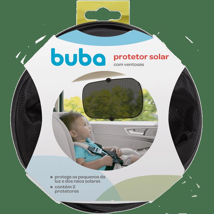 Protetor Solar  Para Carro Com Ventosas - 2 Uni Buba Baby