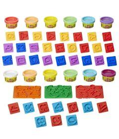 Kit-de-Massas-de-Modelar---Play-Doh---Moldes-de-Numeros-e-Letras---Hasbro