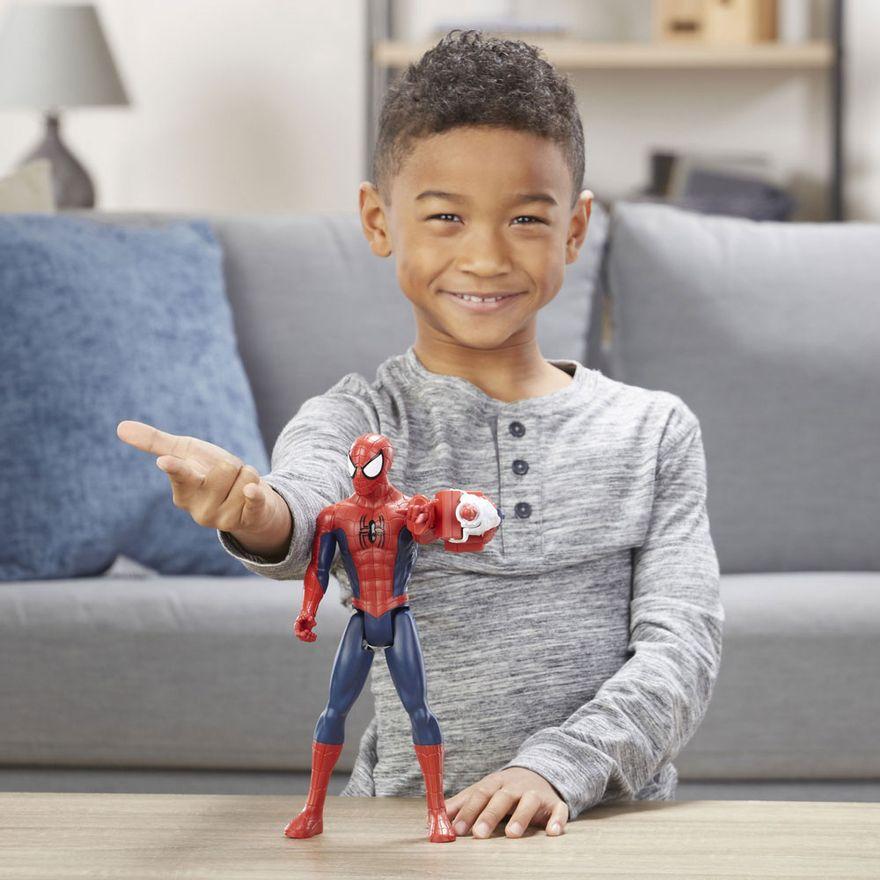 Boneco-Articulado-30-Cm---Disney---Marvel---Spider-Man---Spider-Power-FX-2.0---Hasbro