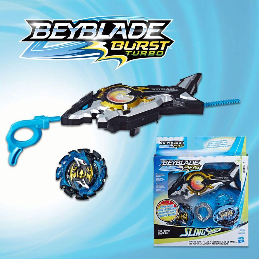 Lancador-e-Piao-de-Batalha---Beyblade---SlingShock---Forneus-F4---Hasbro
