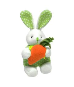 pelucia-de-pascoa-15-cm-coelhos-com-cenouras-roupinha-verde-cromus_Frente