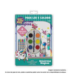 Livro-de-Colorir---Super-Color-Pack---Cores-Sortidas---Unicornios-Magicos---DCL-Editora_Frente