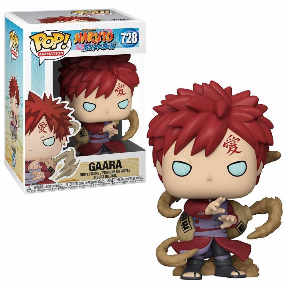 Figura Colecionável - Funko POP - Naruto Shippuden - Gaara - Funko