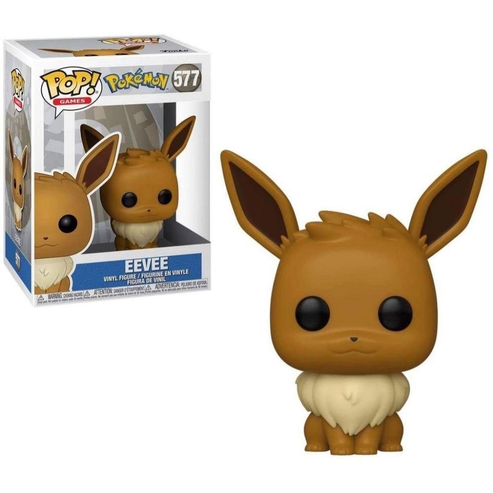 Figura Colecionável - Funko POP - Pokémon - Eevee - Funko