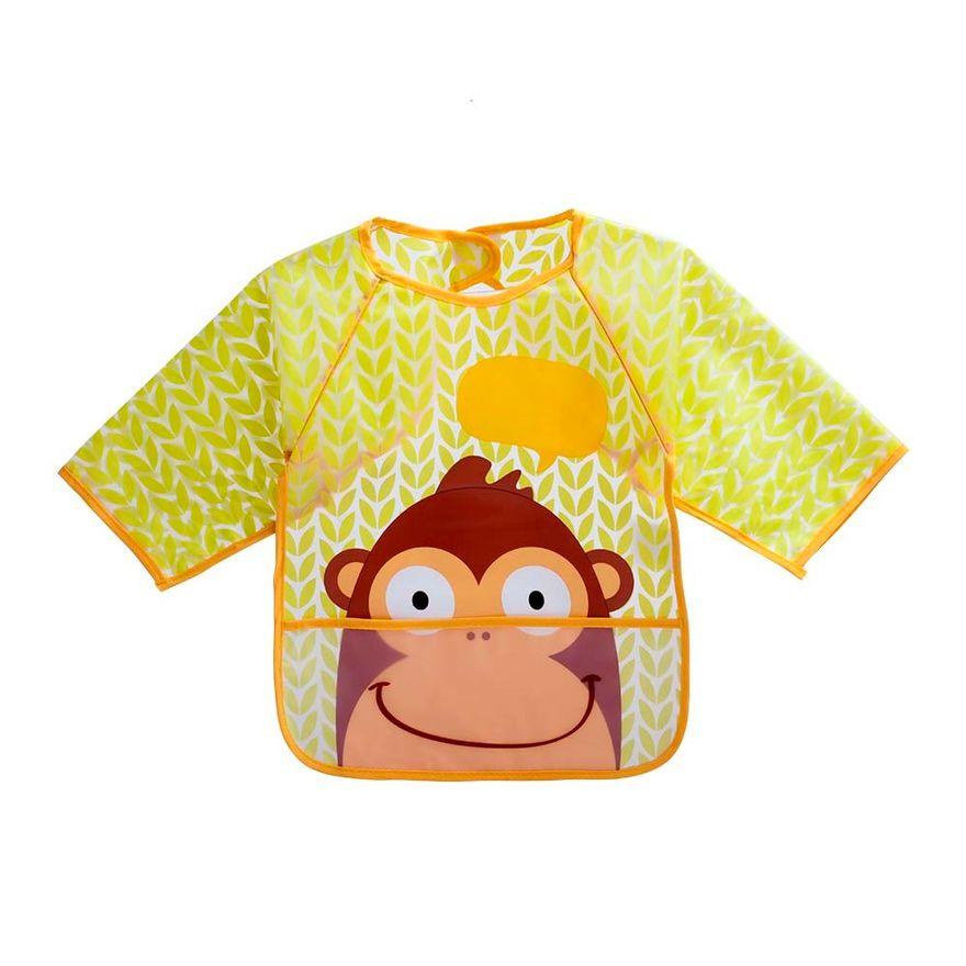 Babador-com-Manga---Macaco---Multikids-0