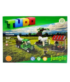 Blocos-de-Montar---Dia-Na-Fazenda---247-Pecas---TUDO-Jungle-0