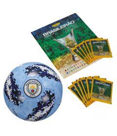Kit-Album---Campeonato-Brasileiro-com-12-Envelopes-e-Bola-de-Futebol---Manchester-City