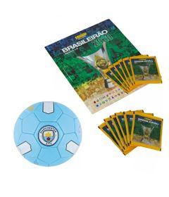 Kit-Album---Campeonato-Brasileiro-com-12-Envelopes-e-Mini-Bola-de-Futebol---Manchester-City