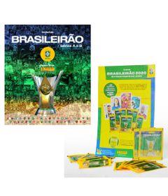 Kit-de-Album-de-Figurinhas---Campeonato-Brasileiro-e-6-Envelopes-de-Figurinha---Panini