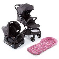 Kit-Travel-System---Skill---Black-Denim-e-Almofada---SafeComfort---Unicornio---Pink---Safety-1St